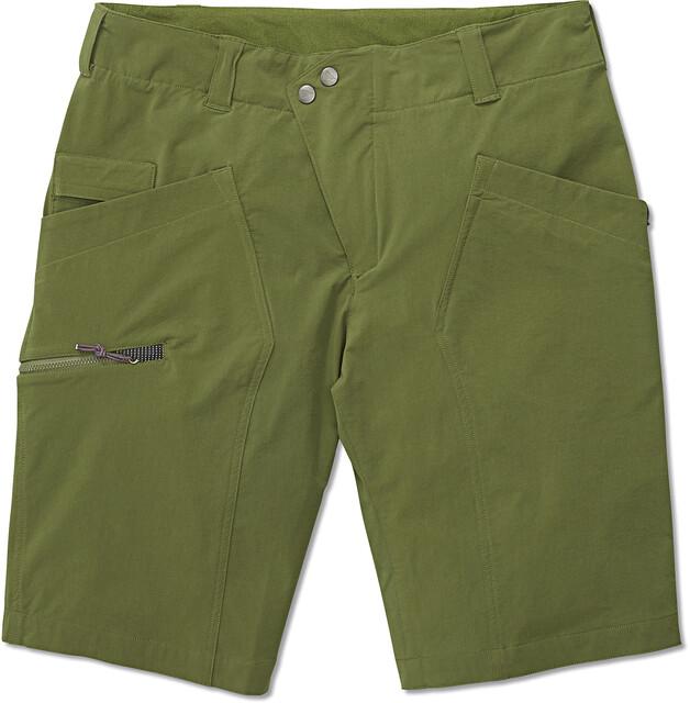 Klättermusen M's Magne Shorts Pine Grön